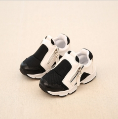 Girls and Boys Sneakers Size 26-36 Hot Selling Autumn Children Shoes black us 1
