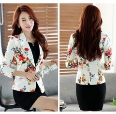 Ladies Short Suit Jackets In Women Blazer Elegant Double Breasted Blazer Women Business Suit Blouson #1 xxl