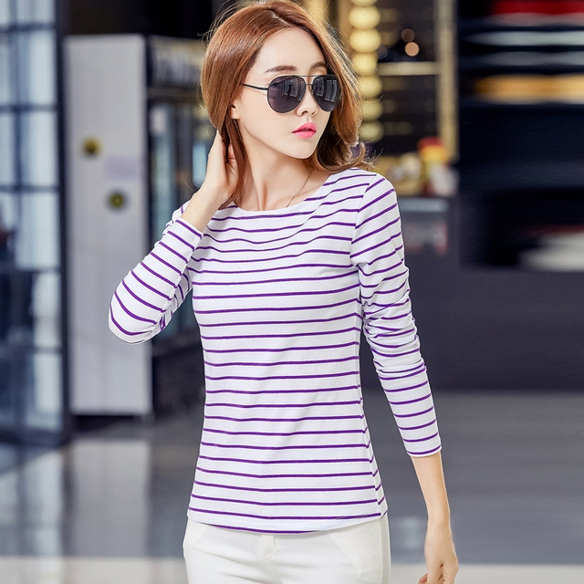 c9939581d0331a Spring new sleeve undershirt women female cotton t shirt slash neck plus  size casual tee shirts 07 s  Product No  774494. Item specifics  Brand