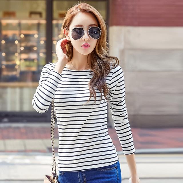 9cc1a22d15e0a4 Spring new sleeve undershirt women female cotton t shirt slash neck plus  size casual tee shirts 09 xl  Product No  774513. Item specifics  Brand