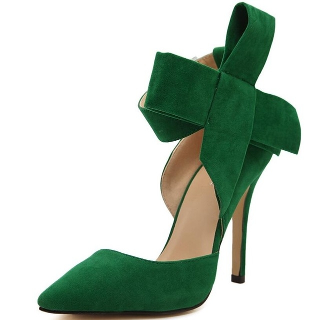 ... Tie Pumps Butterfly Pointed Stiletto Shoes Woman High Heels green 40   Product No  851051. Item specifics  Brand  2bf2b79e5bc3
