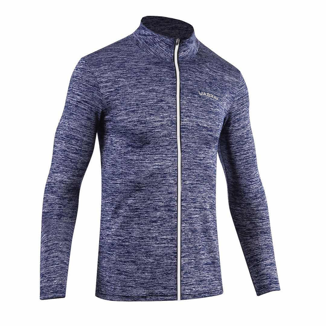 ac31060ac4 Sports Fitness Jacket Men s Stretch Basketball Training Long-sleeved ...