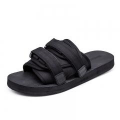Men and women sandals non-slip couple sandals sandals personalized tide shoes black 39