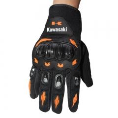 Motorcycle gloves breathable Full Finger Motorcycle gloves for motorcycle hot sale orange L