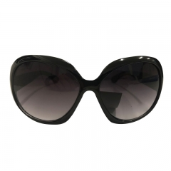 Fashion Brand sunglasses women hot selling sun glasses vintage retro cat eye Eyewear black one size
