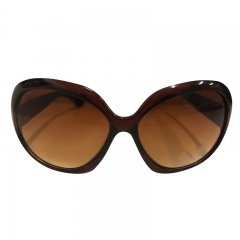 Fashion Brand sunglasses women hot selling sun glasses vintage retro cat eye Eyewear brown 2 one size