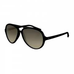 Fashion Sunglasses Women Men Brand Designer Retro Polarized Sun Glasses black one  size