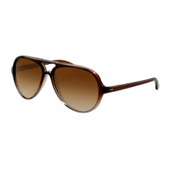 Fashion Sunglasses Women Men Brand Designer Retro Polarized Sun Glasses brown  2 one  size