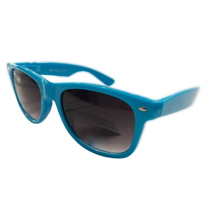 Sunglasses Men Polarized Fashion Eyes Protect UV400 Black Square Sun Glasses blue one  size