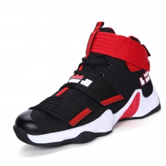 New men's shoes fashion sports shoes men's basketball shoes running shoes red and black 44