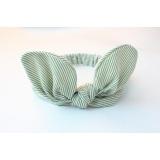 8 PCS Baby Girl Elastic Turban Headbands Head Wrap Rabbit Ear Hair Band Multicolor