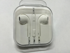 In-Ear Headphone Earphones Earpods with Volume Control For INFINIX DOOGEE CUBOT iPhone White