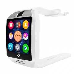 HOT SALE Q18 Smart Watch Bluetooth TF Smart Phone White one size