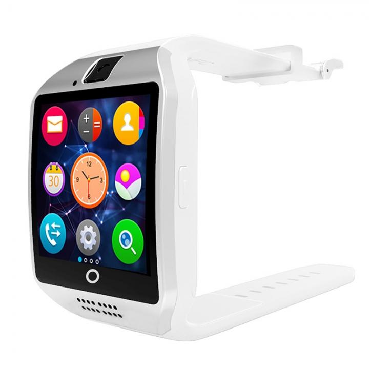 HOT SALE Q18 Smart Watch Bluetooth TF Smart Phone White one size