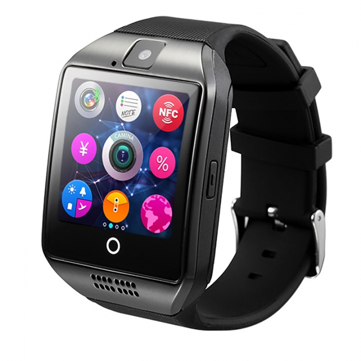 HOT SALE Q18 Smart Watch Bluetooth TF Smart Phone Black one size