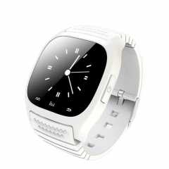 M26S Smart Watch Bluetooth Pedometer White one size