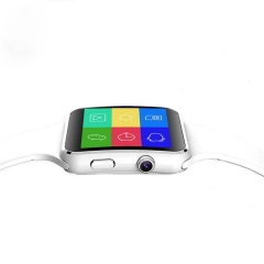X6 Smart Watch Smart Phone Camera Pedometer Wearable Devices for Android Apple Wristwatch White one size
