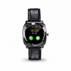 X3 Bluetooth Smart Watch Pedometer Fitness Camera SIM Card Mp3 Player Android Watchphone silver one size