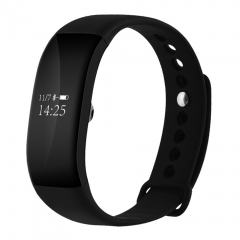 V66 IP67 Waterproof BT4.0 Smartwatch Heart Rate Monitor Wristband Android IOS black one size