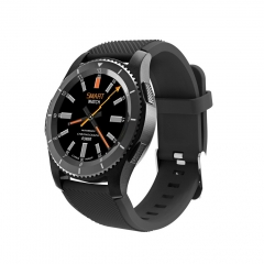 G8 Smartwatch Bluetooth SIM Msg Push Wristwatch Heart Rate Android Apple Xiaomi Samsung black one size