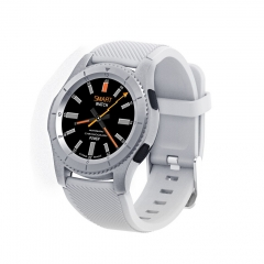 G8 Smartwatch Bluetooth SIM Msg Push Wristwatch Heart Rate Android Apple Xiaomi Samsung white one size