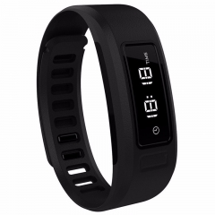 Smartwatch H6 Waterproof BT Fitness Tracker Pedometer Sleep Monitor Iphone Android black one size