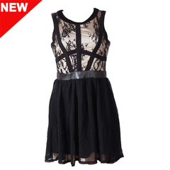 Dawai Leather Dress