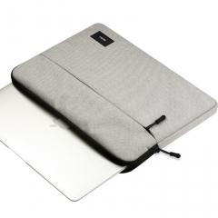 for Dell laptop bag 15.4 inch 14 for ASUS liner bag 13 / 13.3 inch 12 inchfor Apple laptop case light gray 12 inch