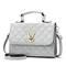 BILLETERA Fashion Woman Geometry Small  Saddle Luxury Handbags Crossbody For Women Messenger Bags grey small