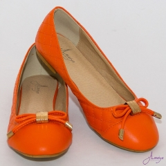Amaiya Elegance Orange Classy Ballerina Ladies Shoes