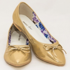 Amaiya Elegance Gold Wet Pointed Toe Ladies Shoes