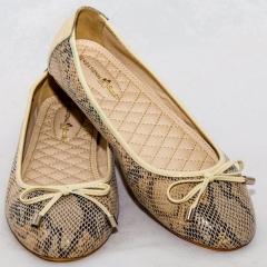 Amaiya Elegance Classy Animal Print Ballerina Ladies Shoes