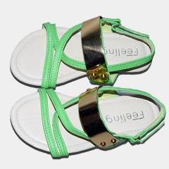 Amaiya Elegance   kids sandal shoes green 25