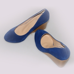 Amaiya Elegance suede +coke blue wedge blue 36