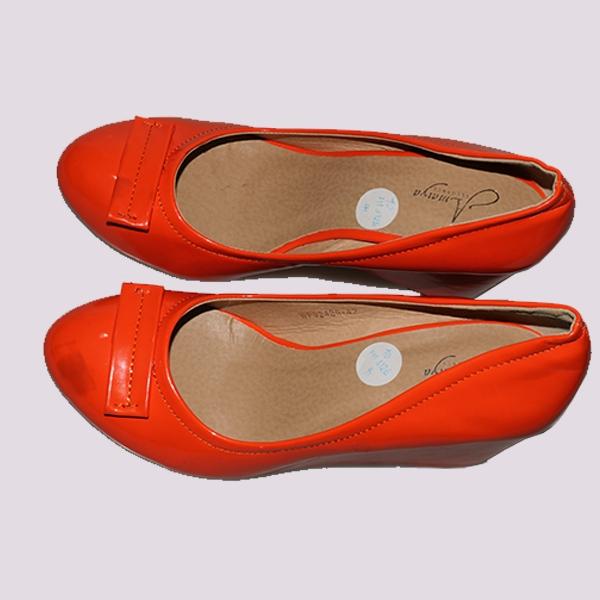 Amaiya Elegance flat bow orange wedge Orange 41