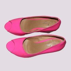 Amaiya Elegance patent pink wedge pink 38