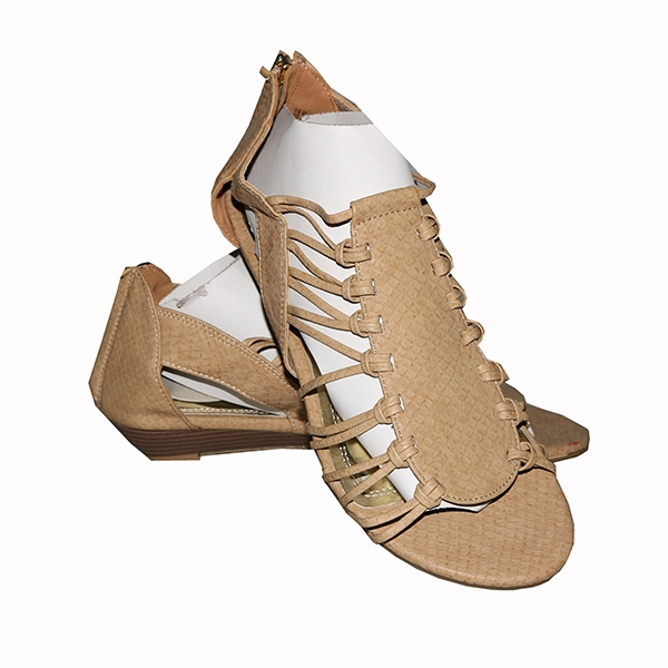 Amaiya Elegance Gladiators Shoes Beige 38