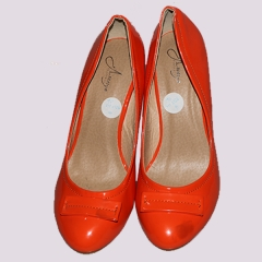 Amaiya Elegance flat bow orange wedge Orange 37