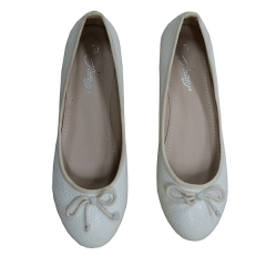 Amaiya elegance white snake skin ladies shoes white 36