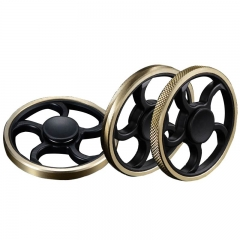 Makit Keep working 2- 4 minutes Gyro Focus Toy Wheels Finger Spinner for Childern and Adult #3 one size