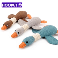 HOOPET Pet Dog Dayan Sound Toys Solid Resistance To Bite Playable High Quality Funny Pet Toy blue one size