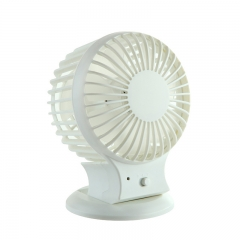 Portable Rechargeable Mini USB Fan For Home and Office white