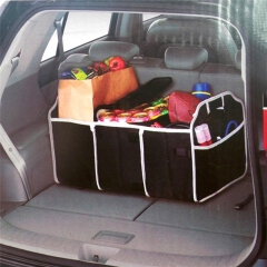 Collapsible  Car Trunk Organizer Toys Food Storage Cargo Container Bags Box Car Stowing Styling