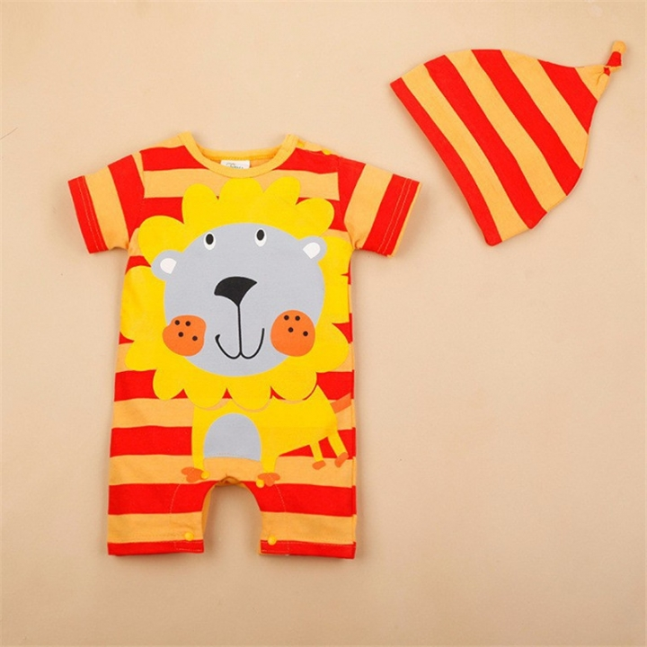 21a46c662 Rompers Summer Baby Girl Clothing Sets Short Sleeve Newborn Baby Clothes  Roupa Bebes Infant Jumpsuit 02