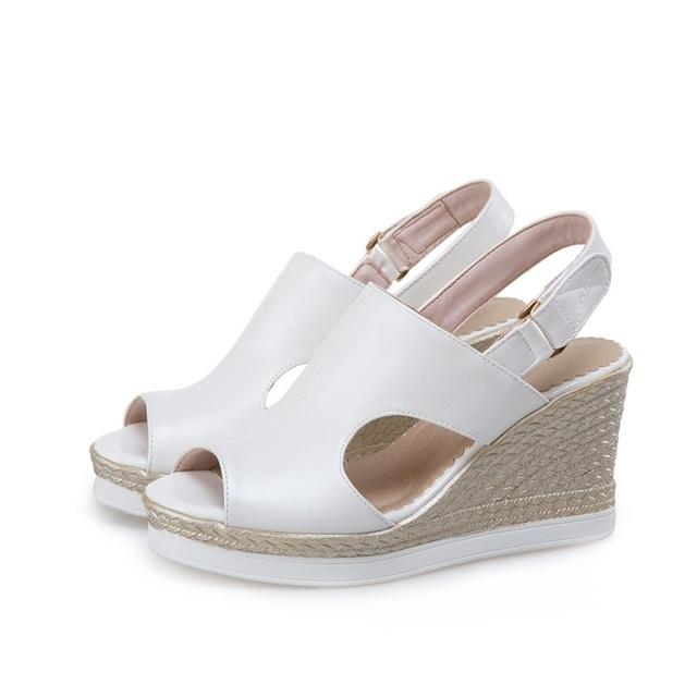 6d0e9b80a fashion sandals woman good quality platform wedges high heels summer ...