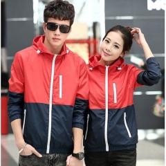Jackets Women Hooded basic Jacket Casual Thin Windbreaker female jacket Outwear Women Coat #01 S