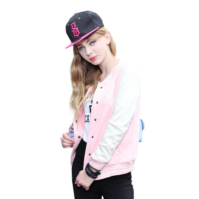 87f1f5a21ea bomber jacket women coat chaquetas mujer casaco feminino jaqueta feminina  baseball veste femme pink L  Product No  680062. Item specifics  Brand