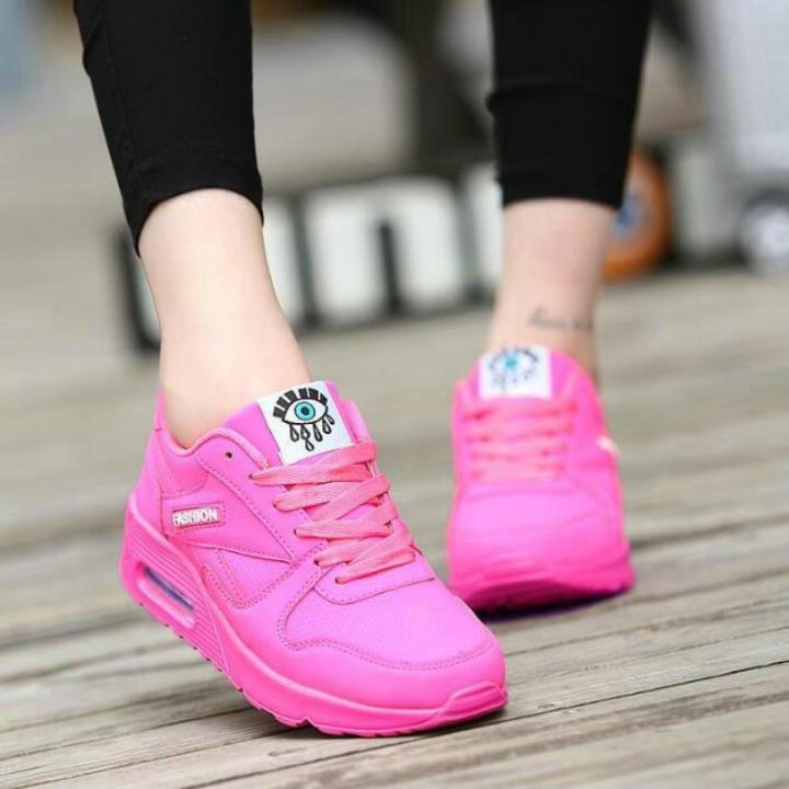 Fashion Korean Women Shoes Spring Tenis Feminino Casual Outdoor Walking  Flats Lace Up Ladies Shoe rose a02db1dce6d5