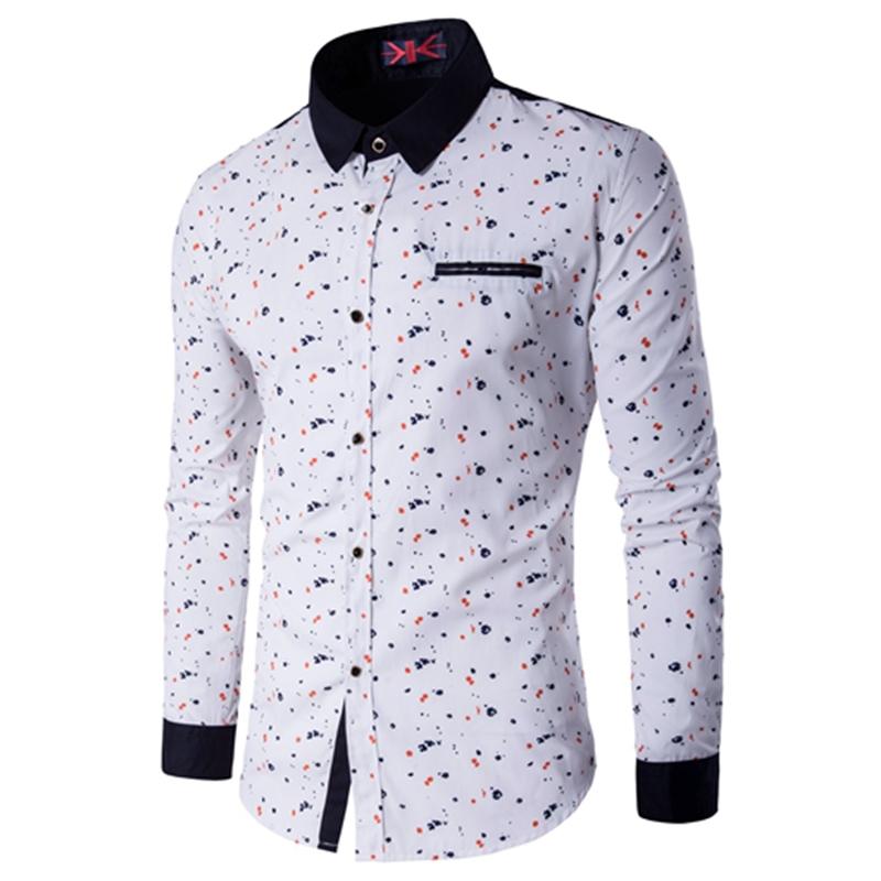 Men's Clothing Casual Shirts Autumn Casual Slim Fit Men Long Sleeve Shirt Mens Fashion Cotton Men Plaid Shirt Social Mens Dress Shirts Plus Size 4xl 5xl Sale Price