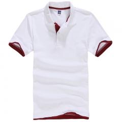 Summer Short Sleeve Shirt Men Polo Shirts Fashion Cotton Brand jerseys Fashion Hip Hop Tops Tees #01 S